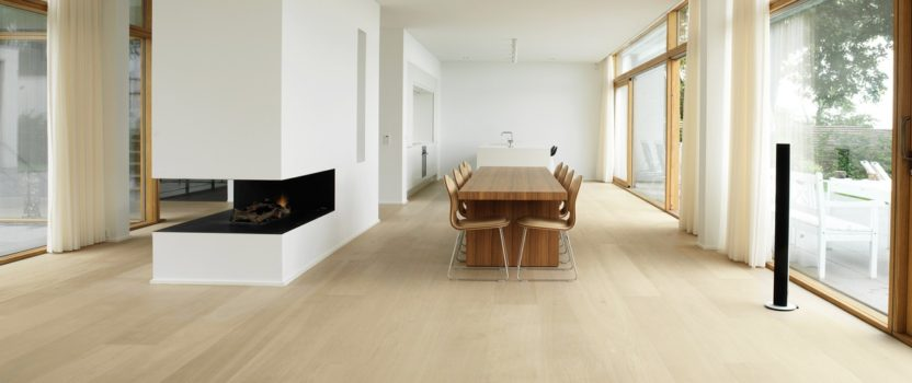 Refinish the floor for higher sales price